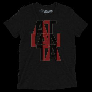Atlanta Stacked Stripes - Charcoal
