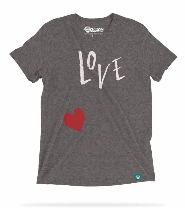 Love Heart Good Vibes t-Shirt